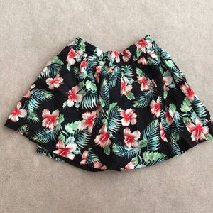Mini Skirt with shorts built in